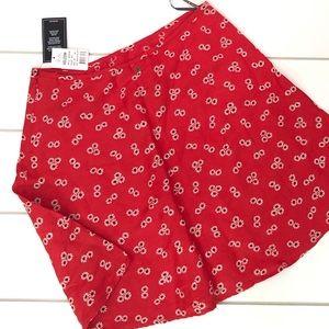 NEW! Volcom Back N the daisy skirt